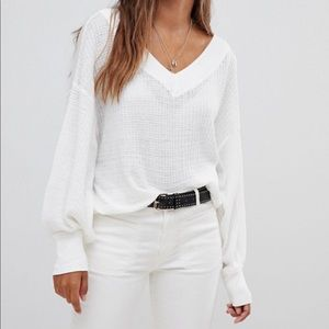 Free People Southside Thermal Top